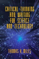 Critical Thinking and Writing for Science and Technology