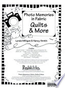 Quilts and more : photo memories in fabric