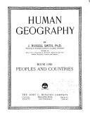 Human Geography  Peoples and countries Book PDF