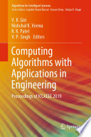 Computing Algorithms with Applications in Engineering