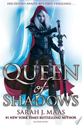 Book cover of 'Queen of Shadows' by Sarah J. Maas