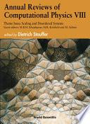 Annual Reviews Of Computational Physics Viii