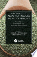 Handbook Of Algal Technologies And Phytochemicals Book PDF