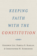 Keeping Faith with the Constitution Pdf/ePub eBook
