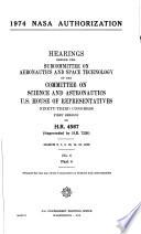 1974 NASA Authorization