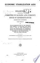 Economic Stabilization Aids