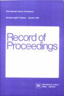 Record of proceedings