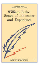 William Blake  Songs of Innocence and Experience
