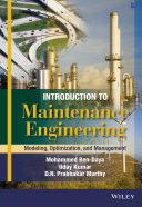 Introduction to Maintenance Engineering Pdf/ePub eBook