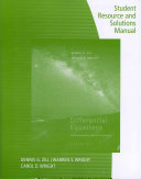 Student Resource and Solutions Manual: Differential Equations with Boundary Value Problems