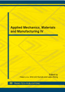 Applied Mechanics  Materials and Manufacturing IV