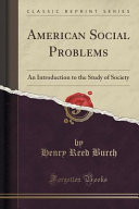 American Social Problems