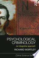 Psychological Criminology