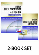 FAMILY NURSE PRACTITIONER CERTIFICATION INTENSIVE REVIEW   Q A FLASHCARDS  Book