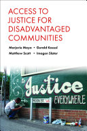 Access to Justice for Disadvantaged Communities