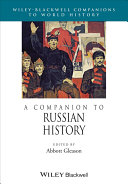 A Companion to Russian History [Pdf/ePub] eBook