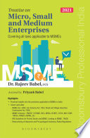 Treatise on Micro  Small and Medium Enterprises Book