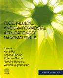Food, Medical, and Environmental Applications of Nanomaterials