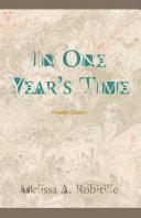 In One Year's Time Pdf/ePub eBook