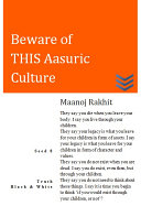 Seed 8  Beware of THIS Aasuric Culture