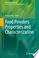 Food Powders Properties and Characterization Book