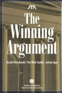 The Winning Argument