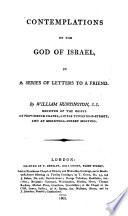Contemplations on the God of Israel, in a Series of Letters to a Friend