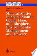 Advanced Mineralogy Book PDF