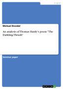 An analysis of Thomas Hardy's poem