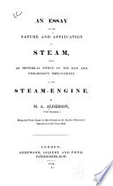 An Essay Of The Nature And Application Of Steam PDF