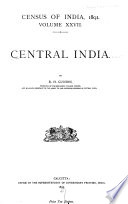 Census of India  1891 Book