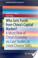 Who Gets Funds from China   s Capital Market  Book