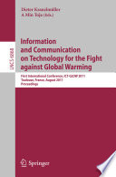 Information and Communication on Technology for the Fight Against Global Warning