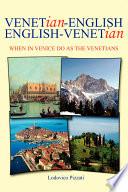 Venetian English English Venetian Book