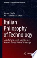 Italian Philosophy of Technology