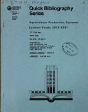 Quick Bibliography Series
