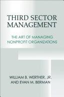 Third Sector Management Pdf/ePub eBook