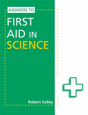 Books - Answers To First Aid In Science | ISBN 9781444186451