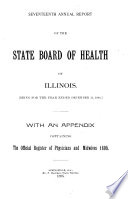 Annual Report of the Illinois State Board of Health