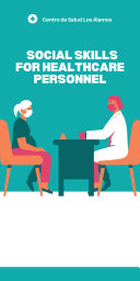 Social skills for  healthcare  personnel