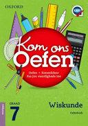 Books - Oxford Kom Ons Oefen Wiskunde Graad 7 Oefenboek | ISBN 9780199056729