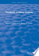 Handbook of Animal Diversity