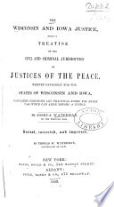 The Wisconsin and Iowa Justice Book
