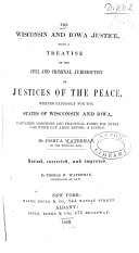 The Wisconsin and Iowa Justice ebook