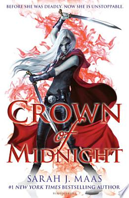 Book cover of 'Crown of Midnight' by Sarah J. Maas