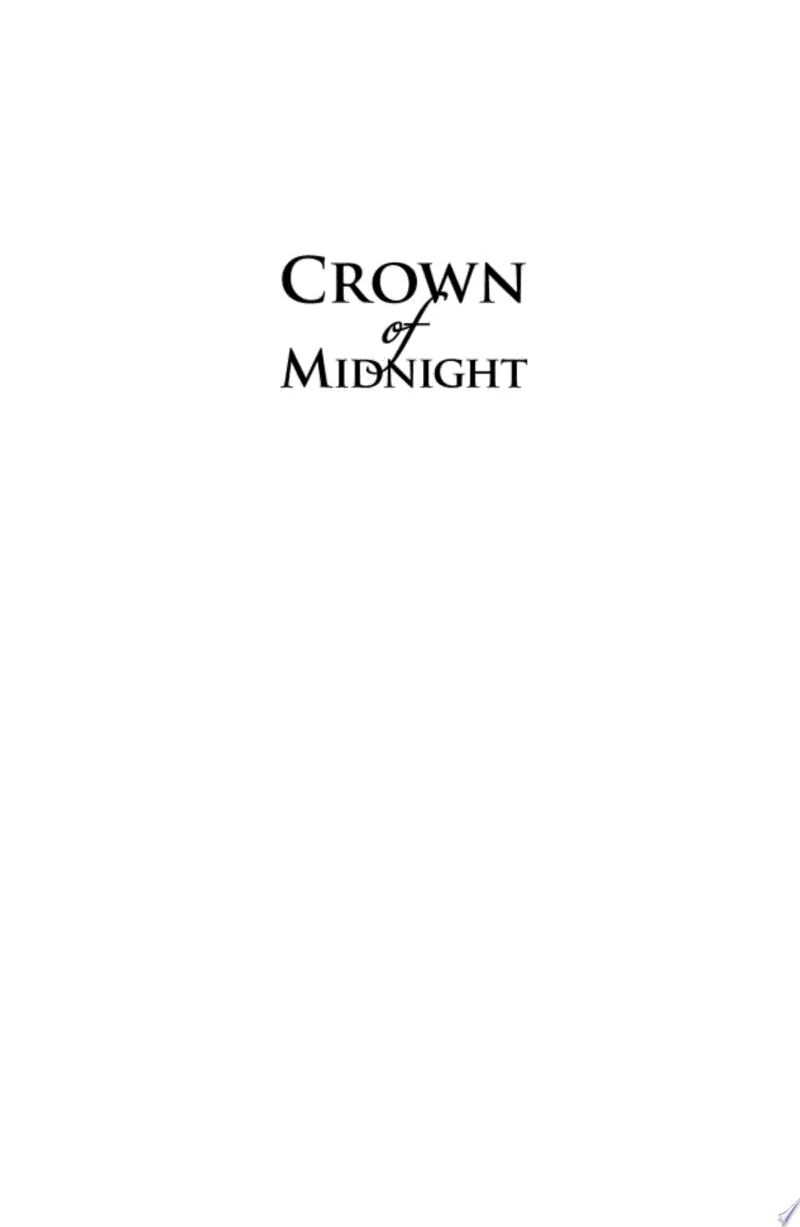 Crown of Midnight banner backdrop