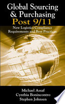 Global Sourcing And Purchasing Post 9 11