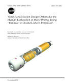 Vehicle and mission design options for the human exploration of Mars/Phobos using