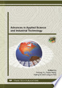 Advances in Applied Science and Industrial Technology