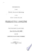 Proceedings of the Annual Meeting of the New York State Pharmaceutical Association